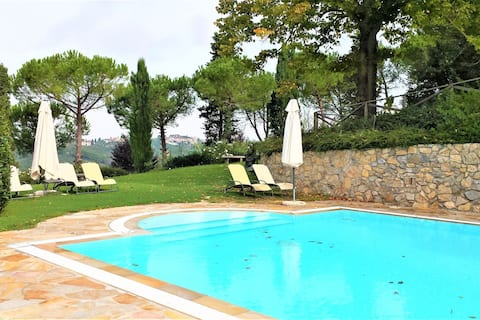 Best Farmhouse in San Miniato with Swimming Pool