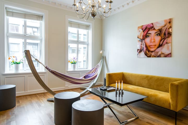 Trendy, Cozy and very centrally located in Oslo :)
