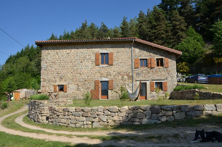 B&B grange de sagne - Saint-Jean-Roure - Bed & Breakfast