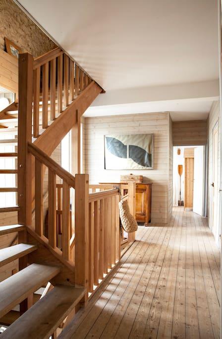Escalier salon