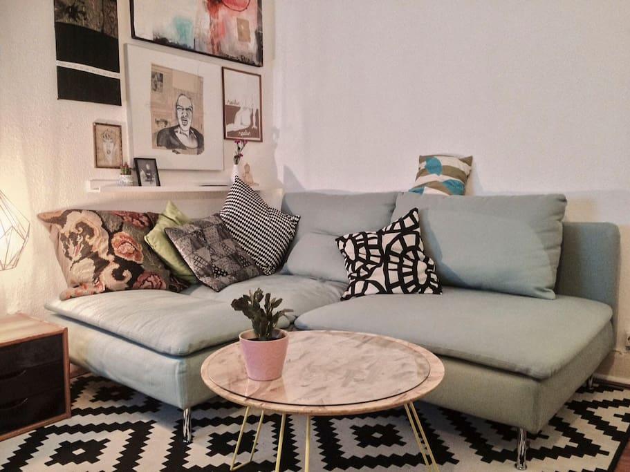... danach gemütlich auf der Couch entspannen ...
