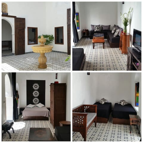 """a traditionnel morrocan house """"riad"""