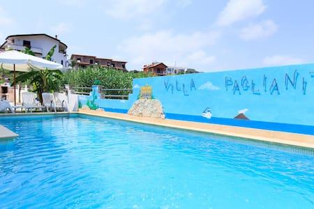 Piscina e Wi-Fi a 250m dal mare Tropea(10) - San Marco - Apartment