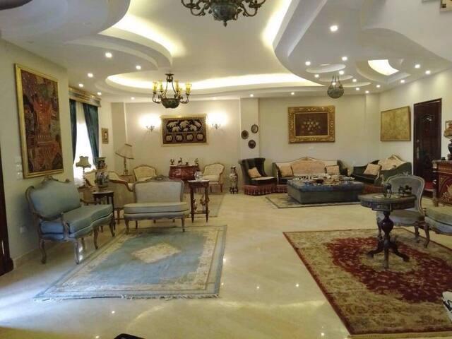 Big cozy family style villa