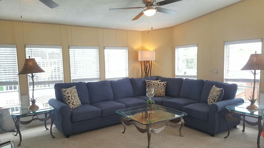 All new furniture, carpet and ceiling fans to make you feel right at home!