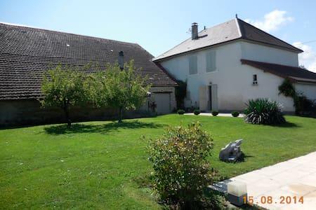 Maison de campagne avec piscine - Montagney-Servigney - Rumah