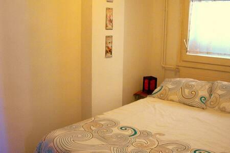 Nice doble room in Barcelona center