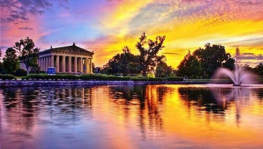 The Parthenon at Centennial Park!