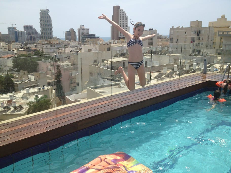 Amazing Penthouse With Private Pool Apartments For Rent In Tel Aviv Israel