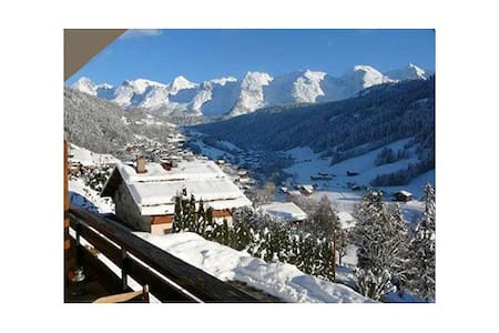 Studio au centre du Grand Bornand - Le Grand-Bornand - Apartmen