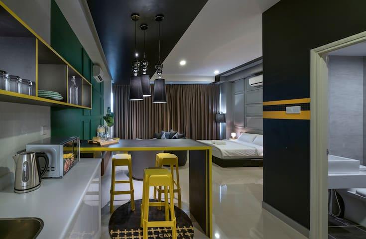 Unique Couple Studio Arte Plus High floor#NAT137
