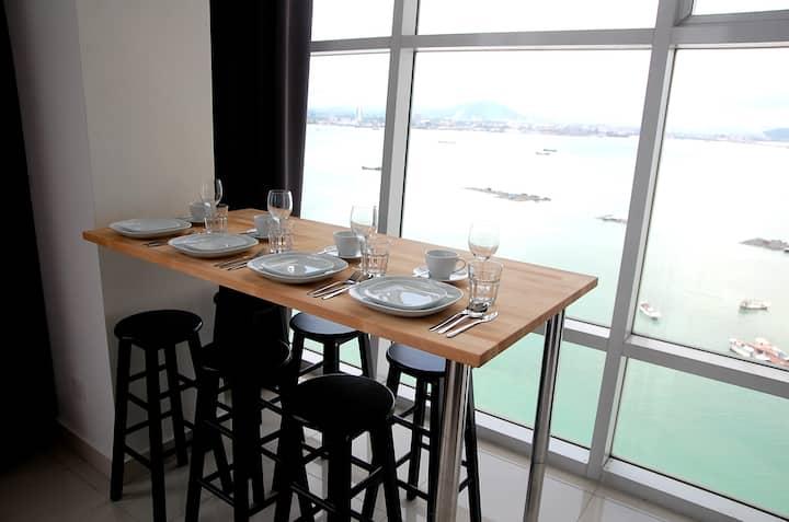 Maritime High Floor Seaview Duplex Condo