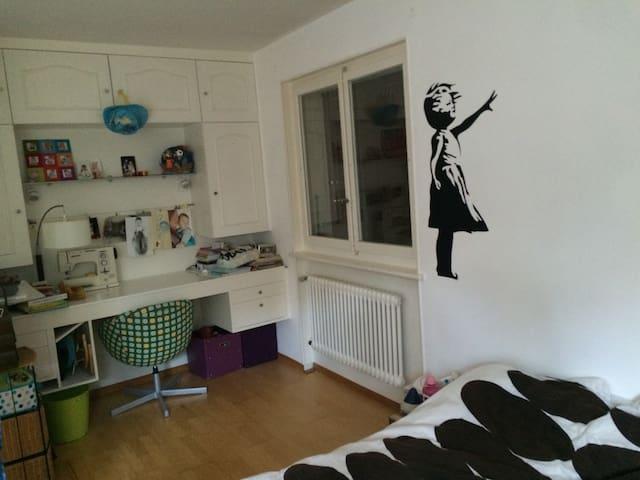 Chambre privée dans appart - Chexbres - Apartment