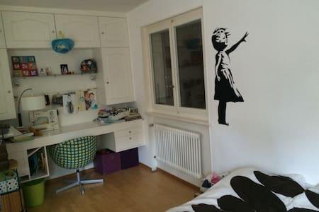 Chambre privée dans appart - Chexbres - Flat