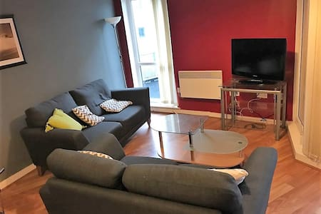 Spacious Modern, 2 Bed Apartment, Great Location - 曼徹斯特 - 公寓