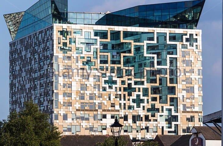 BEST LOCATION IN B'HAM! luxurious Cube Building !!
