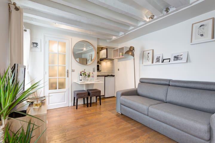 Quiet&Charming studio Concorde - ปารีส - อพาร์ทเมนท์