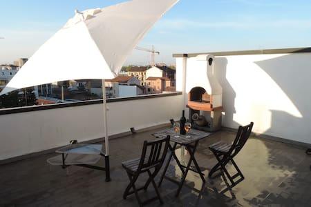 pretty small attic Milano