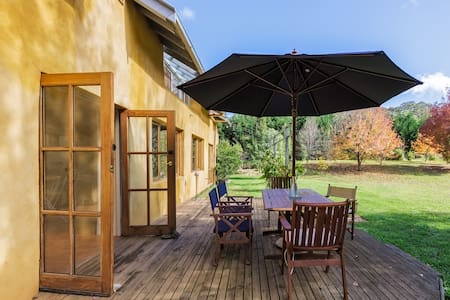 Casa Abierta, Stanley & Beechworth. Peaceful.