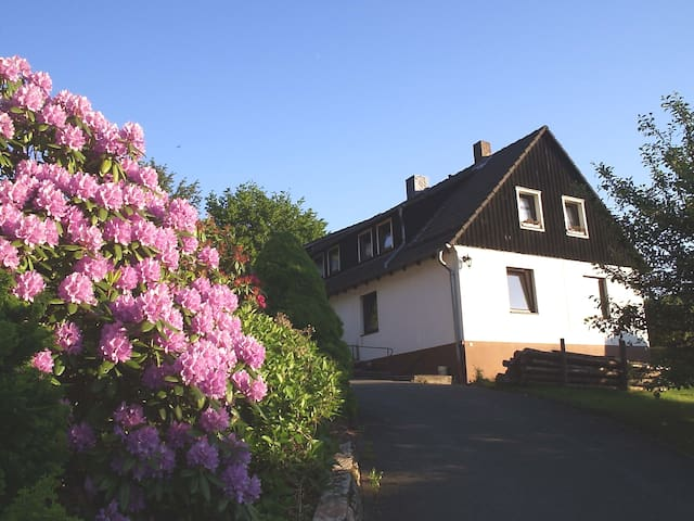 Harz: große Ferienwohnung mit privatem Eingang