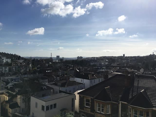 Whole apartment just off of arty Gloucester Road - Bristol - Appartement