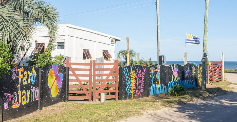 Casa na praia com vista para o mar (N°01)