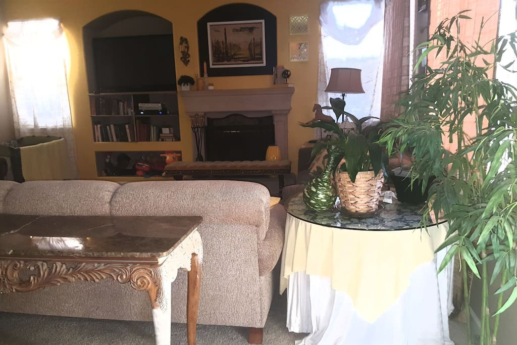 Alternate view of lounge.