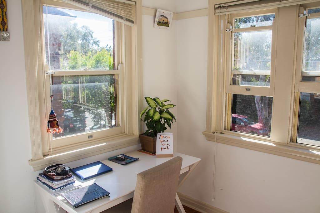 Sunroom / office / baby room