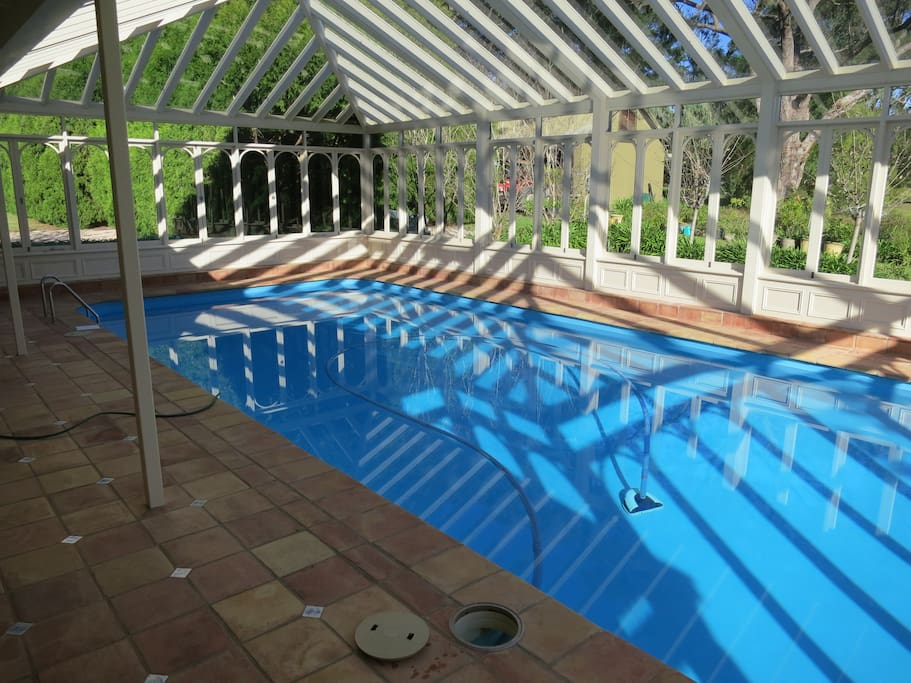 Recharge with an exhilarating swim before breakfast!