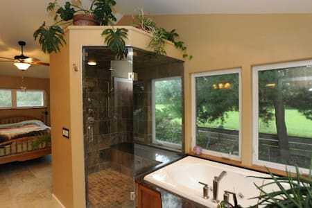 Gorgeous country home near Ithaca - Lansing - Huis