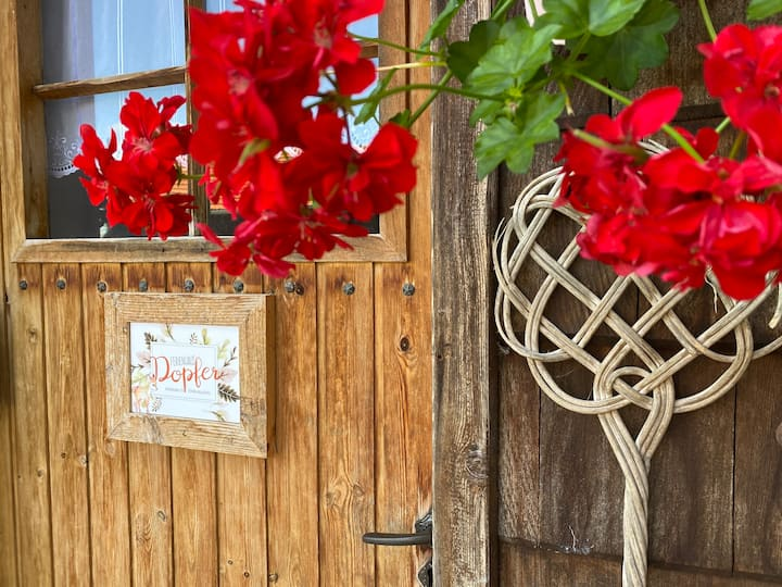 Ferienhaus Dopfer Holzleuten - Selbstversorgerhaus