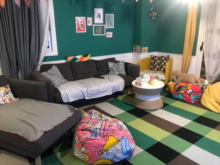 Beautiful apartment , prime location ,facilities