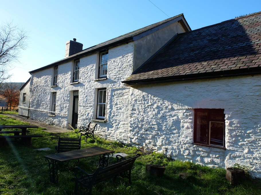 Dolgoch Hostel - originally a Wesh long house farm.