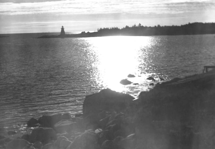 W.R. MacAskill photograph taken between 1920-1938 with our property in the foreground. NS Archives Photograph #200320625 https://novascotia.ca/archives/search/?q=indian+harbour%2C+ns.