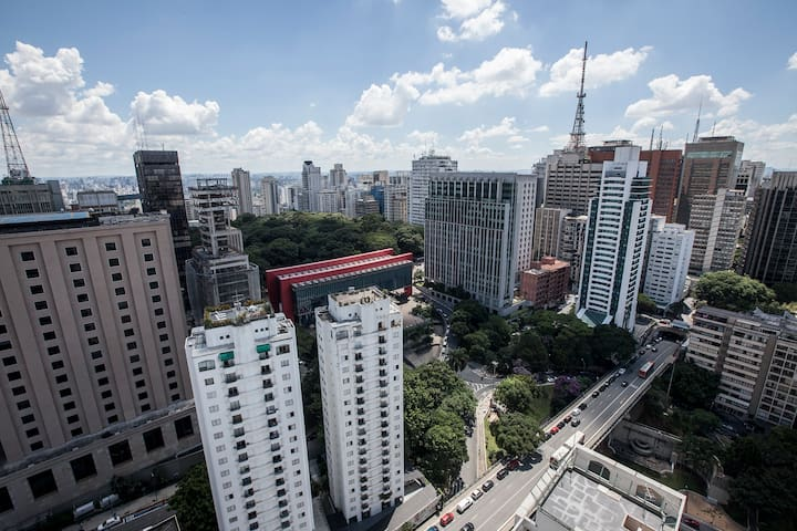 Amazing Place 280m from Paulista Av. w/ parking - São Paulo - Apartment