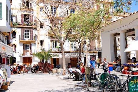 Penthouse midden in Ibiza stad - Eivissa - Wohnung
