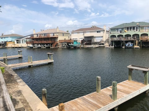Canal Waterfront Condo with attached boat slip