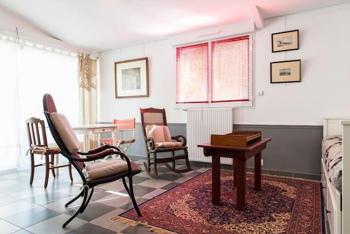 Charmant Cottage rénové BordsLoire à 15' de Nantes - Sainte-Luce-sur-Loire