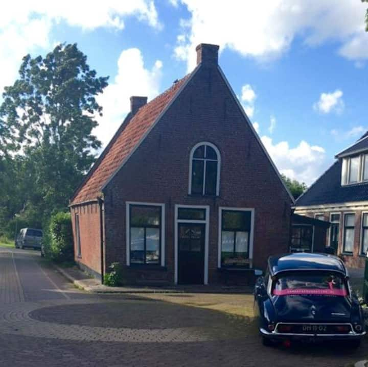 Cute 18th century house in village near Leeuwarden