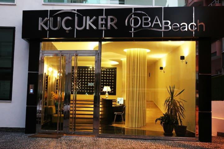 Kucuker Oba Beach Residence New apartament 2+1 - Tosmur Belediyesi - Apartment