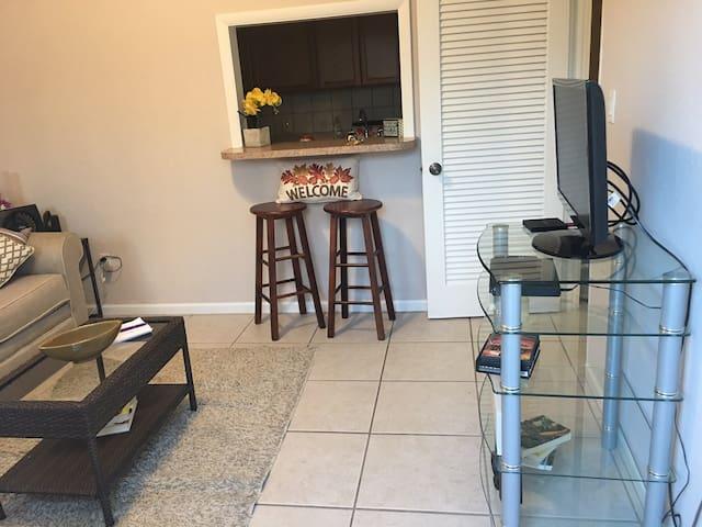 Cozy guest suite