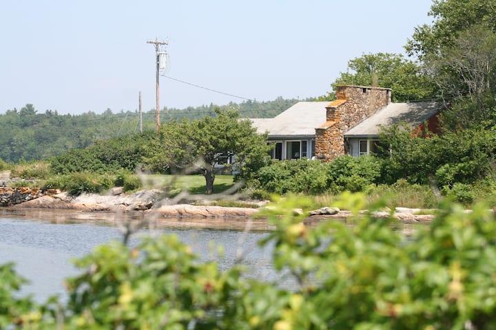 Cushman Cottage on Sebasco Harbor