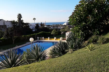 2 double Beds with Pool and Beach is 5 min walk - Mijas