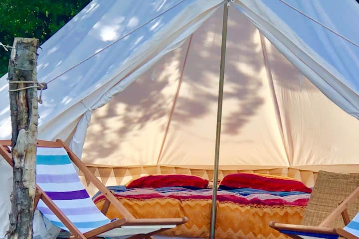 Dragon Fly & option of 2nd bell tent on request