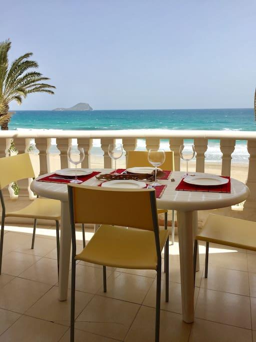Come en la playa sin salir de casa
