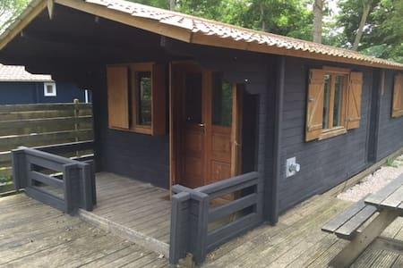 Scandinavische blokhut bij haven - Elahuizen - Cabin