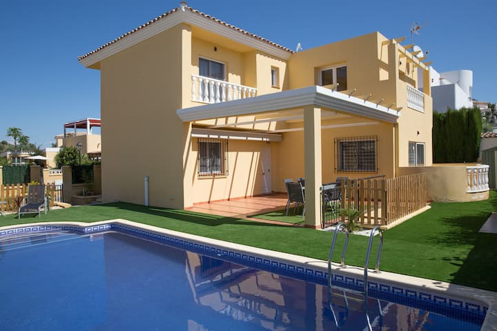 Villa Sorbas, 3 bedrooms with private pool