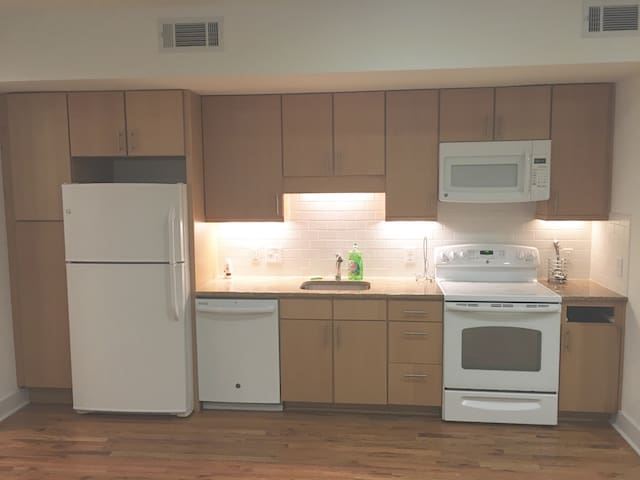 Modern 1 Bed / 1 Bath Apartment