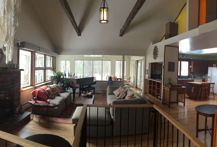 Mid-century Home in Berkshires Woods - Ski + Hike! - Austerlitz
