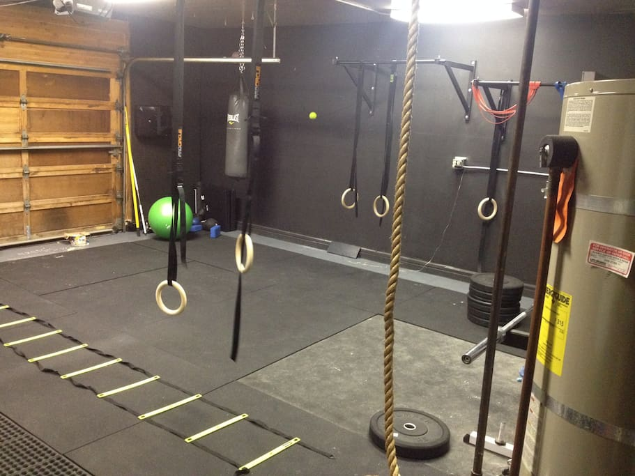 In House CrossFit style gym